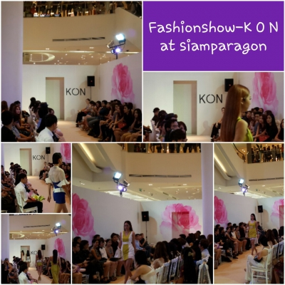 Fashio Show - K O N at siam paragon
